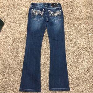 Miss Me Size 26 Jeans JP5497B Bootcut